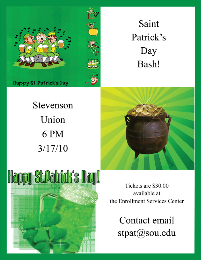 St. Patrick's Day Flier Two